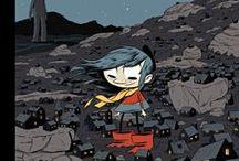 Books // Graphic Novels for Kids / by Rebecca Zarazan Dunn