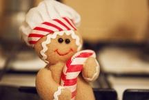 Gingerbread :)  / Gingerbreads are my absolute Favorite of all things christmas / by Deborah Ballard
