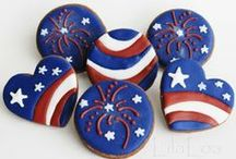 Goodies for July 4th  / Cool, yummies for July holiday  / by Deborah Ballard