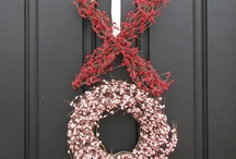Wreath's & Door's for All Occasion's  / Decorated Door's and Different Door's.  Wreath's for Door's any kind. / by Gina Hartley