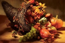 Thanksgiving/Fall / My favorite time of the year..I love the colors, the smells of pies baking, family togetherness and the spirit of thankfulness / by Deborah Ballard