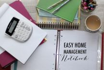Home Management / household cleaning tips, photography tips, etc...