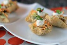 Appetizer Party Food Recipes / Appetizer, finger food, tailgate recipes, delicious, party / by Thrive Gorgeous