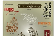 Thanksgiving Vector Graphics / Trendy holiday vectors in AI, EPS, SVG, and GSD formats / by My Vinyl Designer