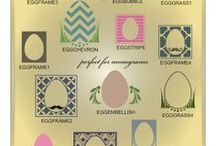 Easter Vector Graphics / Trendy Easter vectors in AI, EPS, SVG, and GSD formats / by My Vinyl Designer