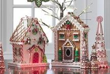 Gingerbread/Houses/Cookies/Cakes / I am in awe of amazing gingerbread creations...gonna try it myself someday  / by Deborah Ballard