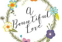 A Bountiful Love Blog / Frugal tips, budget friendly recipes, educational tools and inspiring post ---> from the blog.