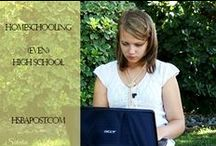 High School Homeschool - HSBA / Resources and reviews related to #homeschooling the high school years.