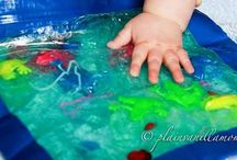 Baby Tactile Activities / A collection of activity ideas and sensory experiences for babies (ages 0-2). / by Rebecca Dunn