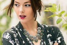 N E C K . B L I N G . / The best ways to style statement necklaces / by Christine | The View From 5'2""