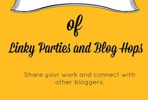 Blogging Tips and help / Board for all blog hops, linky parties and awesome blogging tips