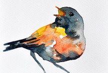 Art - Birds / by Peggy Bousman