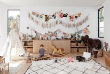 Babies playroom interiors