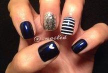 Nail Designs / Tips / by Lori Bethell