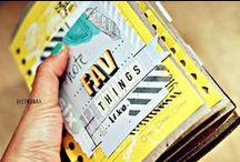 Scrapbook: Mini-Albums and Art Journals / #rukristinscraps A collection of inspiring scrapbook mini-albums and art journaling pages.  / by rukristin: Feminist Scrapbooker
