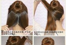 Hairstyles / Hair and beauty ideas