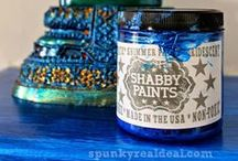 Chalk Paint Adventure / Toss it? I think not...let's paint it! #anniesloan #vangogh #CeCeCaldwells #chalkpaint / by Heather Paulding