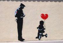 Banksy Art / by Joan Cook