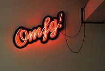 NEON LIGHTS SIGNS / #neon #neonlight #neonsign #neonışıklar #dekorasyon #decoration