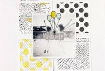 Scrapbook: Layouts / #rukristinscraps Scrapbook layouts. 12x12, 9x12, 8.5x11, and more. Inspiration, how-to, techniques and more / by rukristin: Feminist Scrapbooker