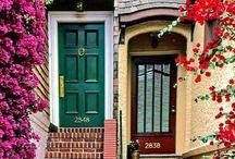 DOORS GATES ENTRIES / Check out my doorhandles doorknobs doorknockers board too;) #door #kapı