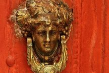 DOOR HANDLES DOOR KNOBS DOOR KNOCKERS / Check out my door board too;) #doors #doorhandles #doorknobs #doorknockers #home #homedecoration #decoration #exterior #kapı #kapıtokmağı