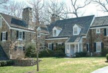 PA Stone Farmhouse/Colonial Revival / Pennsylvania/Delaware vernacular architecture
