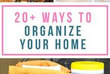 Organizing Your Home / On this board, you can find tips and tricks for organizing your living space