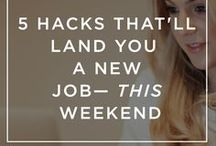 Job Hunting  | Job Interview Advice | Resume Tips / Tips for job hunting  | Job interview tips & advice to help you land your dream job  | resume tips to help you land the job you want
