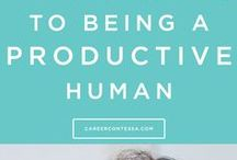 Productivity l Time Management  l Organizing Your Life / Here you can find tips and tricks for improving productivity, time-management, and organization in your life.