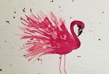 FLAMINGOS / #flamingo #flamingos #animals