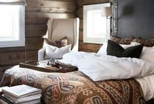 Home Interiors:Bedroom / Mid-century modern and eclectic bedrooms.