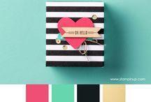 Pretty Colours / Gorgeous colour combinations, inspirational colour palettes.
