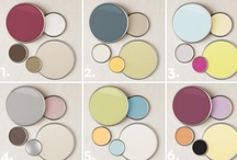 Color Palettes / Considerations for home decorating and/or even family photo shoots / by Crystal Vernon