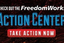 Take Action! / If you don't like it, change it! Help us take action and take back Washington at, action.freedomworks.org!
