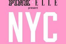 PINK NYC Love board