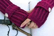 crochet accessories by valkinthreads on etsy