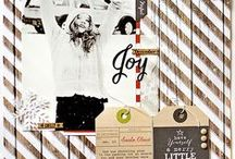 DIY... Scrapbook / Beautiful scrapbook inspiration. Images and links to fantastic tutorials. Be inspired :-)