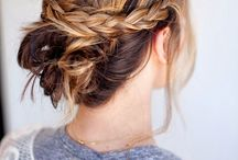 Love... Hair & Nails / Gorgeous hair styles for every season; inspiration for her & little Miss; beautiful nail colours & designs