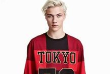 Lucky Blue for H&M / MODEL: Lucky Blue Smith