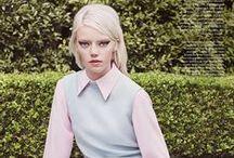 Pyper America for Elle US / MODEL: Pyper America Smith EDITORIAL: Beyond the Pale PHOTOGRAPHER: Liz Collins