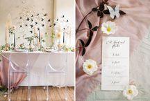 watercolour kitchen tea / Pastel colours, tulle, soft petals, transparent elements, feminine grandeur, feminine charm.