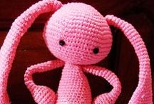 Вязаные игрушки.Knitted toys, amigurumi / Вязание крючком, схемы, описание. Crochet , schemes, description