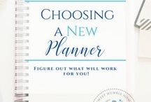 Planners / Love planners! Find the right planner for you! Organize your life!