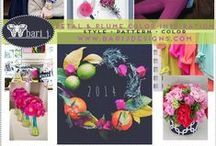 COLOR SWOON ✯ / Color combinations to swoon over.  Design ✯ Color ✯ Art