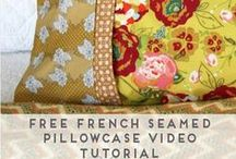 SEWING + QUILTING ✯ / Gorgeous sewing and quilting projects.  SEWING ✯ QUILTING ✯ NEEDLE ARTS