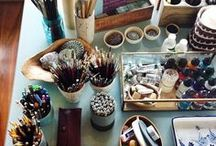 S t u d i o / art studio spaces and other rooms of her own
