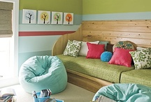 Kids BEDrooms & PLAYrooms / Weather it's the bedroom or playroom, kids love bright, happy, magical, fun, creative spaces... I just want it to be organized and clean! / by Nikki Workman