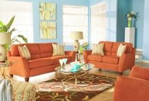 Living Room / WELCOME family and friends! My ideal family room; using colors I love, organization I need, and decorative details I can MAKE! Come on in and relax with me and let's have a good time! / by Nikki Workman