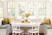 Dining Room / the multi functional dining room for a growing family. May it be calming, clean and pretty. May it also be a place to do homework, eat yummy food and have long meaningful conversations with good friends.  / by Nikki Workman